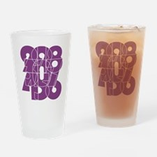 pnk_cnumber Drinking Glass