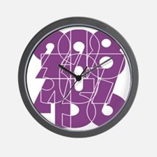 pnk_cnumber Wall Clock