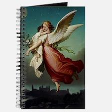 Guardian Angel by Wilhelm Von Kaulbach Journal