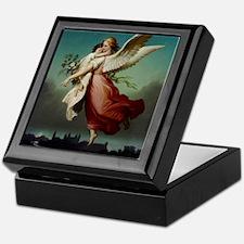 Guardian Angel by Wilhelm Von Kaulbac Keepsake Box