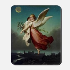Guardian Angel by Wilhelm Von Kaulbach Mousepad