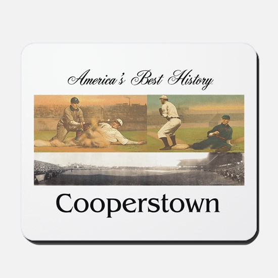 Cooperstown Americasbesthistory.com Mousepad