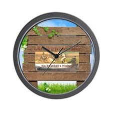 ABH Cooperstown Wall Clock