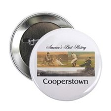 """ABH Cooperstown 2.25"""" Button"""