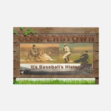 Cooperstown Americasbesthistory.c Rectangle Magnet