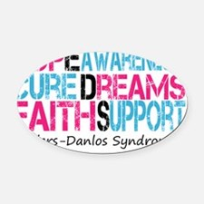 Ehlers Danlos Syndrome Hope Cure A Oval Car Magnet
