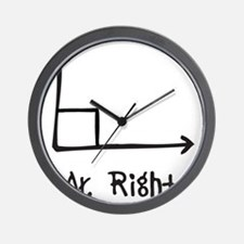 Mr Right Wall Clock