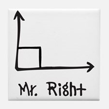 Mr Right Tile Coaster