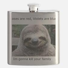 Killer Sloth Flask