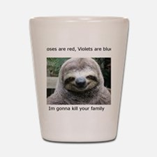 Killer Sloth Shot Glass