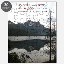 Be Still Sawtooth Mountains Puzzle