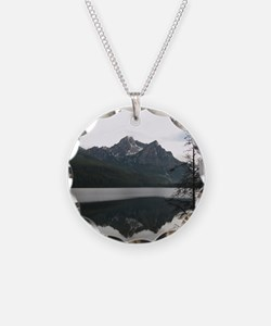 Be Still Sawtooth Mountains Necklace