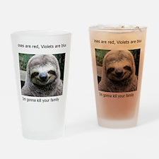 Shirt Meme 1 Drinking Glass