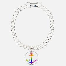 Rainbow Anchor Bracelet