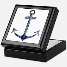 Retro Anchor Keepsake Box