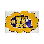 Barack Obama 2008 Rectangle Magnet