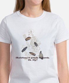 Skeletons, Points, & Sherds Tee