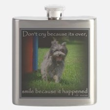Smile because it happened Flask