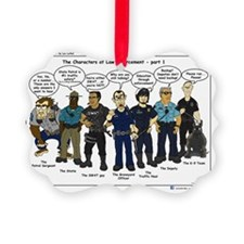 Characters of LE part 1 Ornament