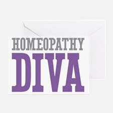 Homeopathy DIVA Greeting Card