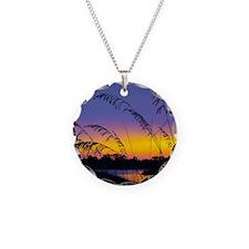 Sunrise at Santa Rosa Beach  Necklace