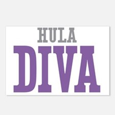 Hula DIVA Postcards (Package of 8)