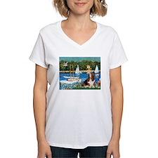Sailboats & Basset Shirt