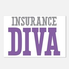 Insurance DIVA Postcards (Package of 8)