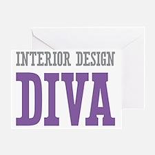 Interior Design DIVA Greeting Card