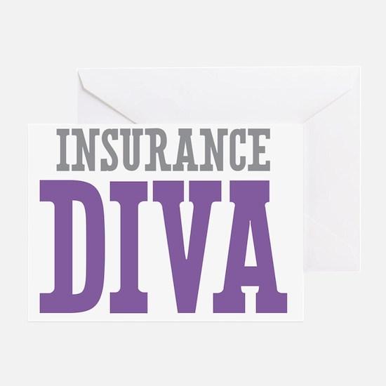 Insurance DIVA Greeting Card
