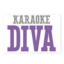 Karaoke DIVA Postcards (Package of 8)