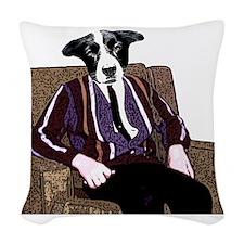 Dog Days Of Summer Woven Throw Pillow