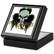 Hooligan Skull Keepsake Box