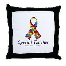 Special Teacher Throw Pillow