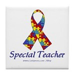 Special Teacher Tile Coaster