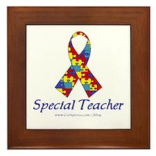 Special Teacher Framed Tile