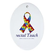 Special Teacher Oval Ornament