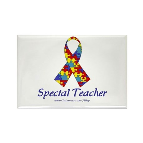 Special Teacher Rectangle Magnet
