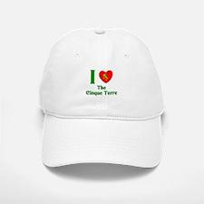 I Love the Cinque Terre Italy Baseball Baseball Cap