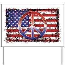 American Peace Yard Sign
