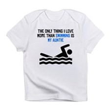 Swimming Auntie Infant T-Shirt