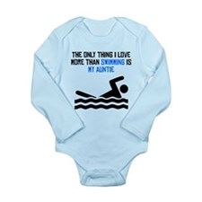 Swimming Auntie Body Suit
