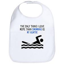 Swimming Auntie Bib