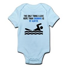 Swimming Auntie Body Suit
