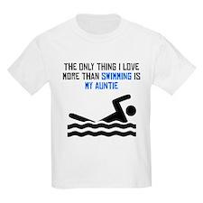 Swimming Auntie T-Shirt