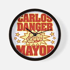 Carlos Danger Wall Clock