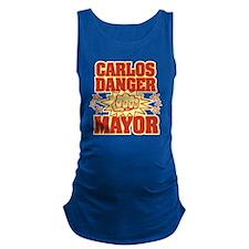Carlos Danger Maternity Tank Top