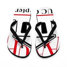 UC AAUP Logo Flip Flops