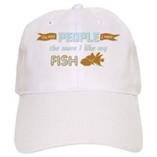 I Like My Fish Baseball Cap