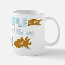 I Like My Fish Mug
